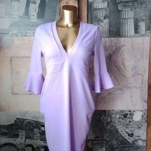 Boohooo lilac dress